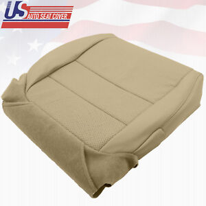 For 2004 08 Acura Tl Driver Bottom Replacement Seat Cover Perforated Leather Tan