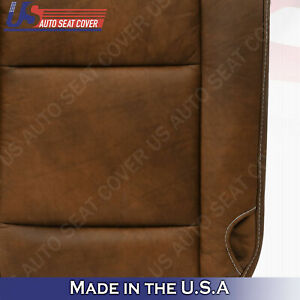 2005 2006 2007 Ford F 250 F 350 Driver Bottom Leather Seat Cover For King Ranch