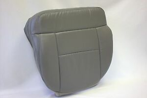 2004 2005 2006 2007 08 Ford F150 Driver Bottom Seat Cover Gray Synthetic Leather