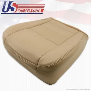 2002 To 2007 Ford F350 Super Duty Lariat Passenger Bottom Leather Seat Cover Tan
