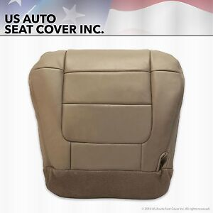 2001 2002 2003 Ford F 150 Lariat Super Crew Driver Bottom Leather Seat Cover Tan