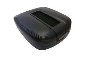 2007 08 09 2010 Chevy Tahoe Center Console Armrest Compartment Lid Cover Black