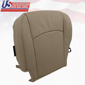 2011 Dodge Ram 1500 2500 3500 4500 5500 Driver Bottom Leather Seat Cover Tan