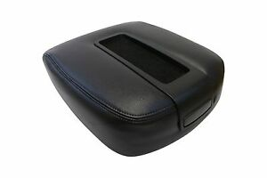 2007 To 2014 Suburban Tahoe Armrest Center Console Compartment Lid Cover Black