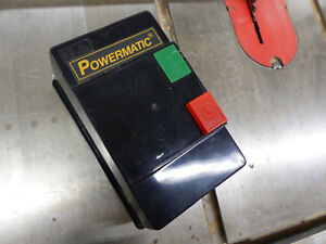 Powermatic Magnetic Switch Assembly 220v 15a 5hp Part Number Ms1 18d