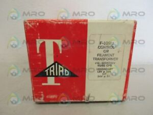 Triad F 109u Filament Transformer new In Box