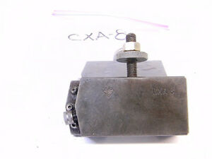 Used Aloris Cxa 8 Quick Change Threading Tool Holder