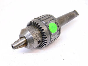 Used Jacobs 18n Ball Bearing Drill Chuck With 4mt Arbor range 1 8 3 4