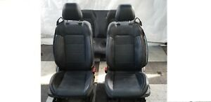 2015 2017 Ford Mustang Gt 5 0 Rear 50th Anniversary Leather Front Seats Oem