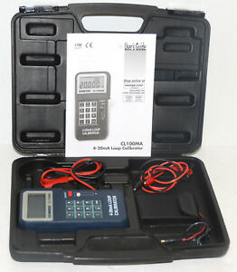 Omega Cl100ma Loop Calibrator 4 20ma Cl 100ma