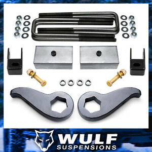 3 Front 2 Rear Leveling Lift Shock Ext Kit 2011 2018 Chevy Silverado 2500 Hd