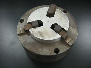 3 jaw 5 Inch Chuck With Jaw Spacer Southbend Atlas Lathe
