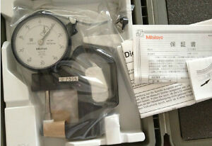 Mitutoyo 7305 Dial Thickness Gage Meter Gauge 0 20mm Range 0 01mm Brand New
