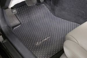 Clear Vinyl Floor Mats Protectors Front Only Custom For Jeep