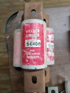 Lot Of 3 Bussman 64400 Welder Limiter Fuses W52