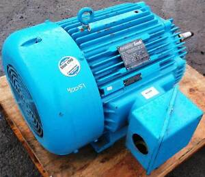Marathon Electric Motor 100 Hp Volts 460 Rpm 1780 Frame 405tcz