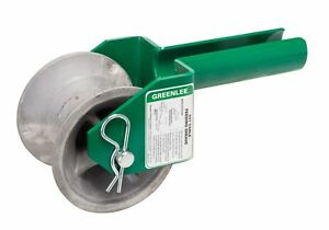 Greenlee 441 2 1 2 Feeding Sheave For 2 1 2 inch Conduit New