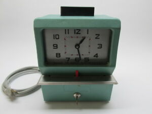 Acroprint Punch Clock Time Recorder Vintage