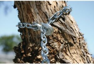 Grade 30 Zinc Plated Proof Coil Chain Heavy Duty Welded Steel Towing Pulling Log