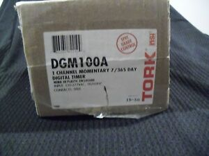 Tork Dgm100a Electronic Digital Timer Switch 7 Days