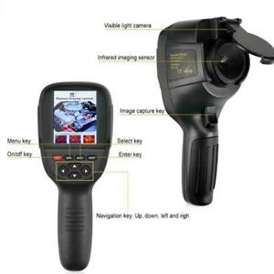 Thermal Camera 3 2inch Screen Digital Infrared Imager Thermometer Led Light