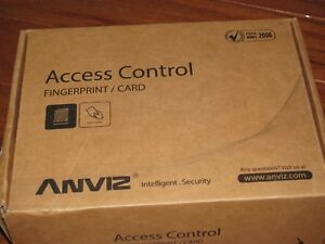 Anviz Vf30 Fingerprint Access Control New In Box