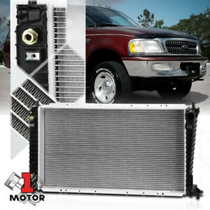 Aluminum Radiator Oe Replacement For 99 10 Expedition F150 F250 4 6 5 4 Dpi 2257
