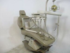 Knight Model S Dental Patient Exam Chair W Light Delivery System
