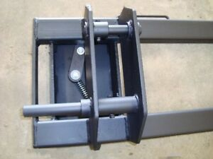 Equick Hitch Adapter Thomas 133 To Skid Steer Attachments
