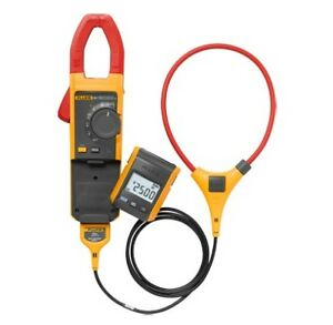 New Fluke 381 Remote Display True rms Ac dc Clamp Meter With Iflex