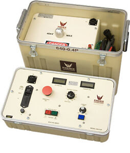 Phenix Technologies 640 0 4p Portable Ac Dielectric Test Set