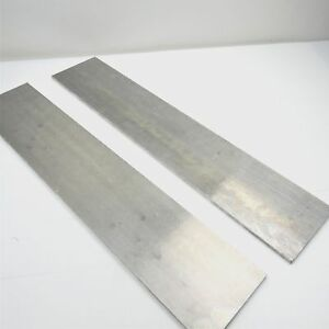 25 Thick 1 4 Aluminum 6061 Plate 6 875 X 29 25 Long Qty 2 Sku 105987