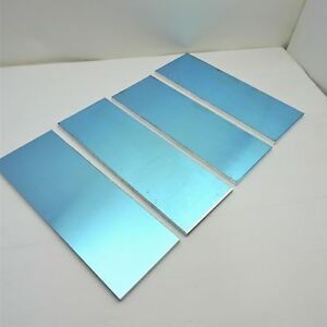 25 Thick 1 4 Precision Cast Aluminum Plate 5 5 x 16 Long Qty 4 Sku174495