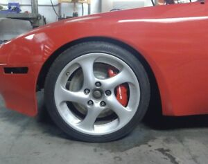 Porsche 944 951 Turbo Cayenne Rotor Centering Rings