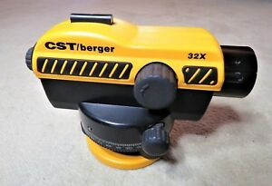 Cst Berger 32x Automatic Laser Level Barely Used Excellent Condition