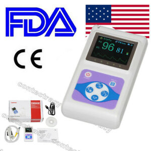 Cms60d Color Oled Finger Tip Pulse Oximeter Spo2 Monitor Pulse Rate software usa