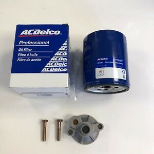 Bbc Chevy Oil Filter Adapter Bbc Chevrolet 396 402 427 454 With Ac Delco Filter