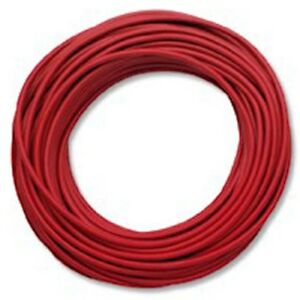 Pomona 6733 2 Test Lead Wire With Silicone Insulation Red