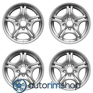Bmw 320i 323i 325i 330i 2000 2006 17 Oem Staggered Wheels Rims Set