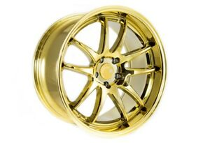 Aodhan Ds02 19x9 5 5x114 3 22 Gold Vacuum Wheels Fits Honda Accord 2008 2012