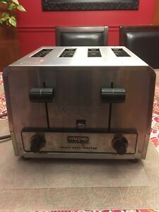 Waring Commercial Heavy Duty 4 Slot Toaster 240v Food Truck Restaurant