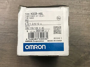 Timer Module off Delay Omron H3cr h8l 12min Solid State Counter Module New Nib