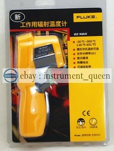 New Fluke 62 Max Single Laser Infrared Thermometer 3 Years Warranty new