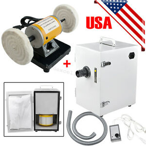Dental Polishing Polisher Equipment Unit Digital Dust Collector Vacuum Cleaner