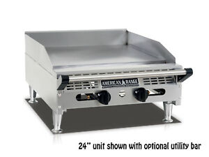 American Range Aemg 60 60 rdquo Heavy Duty Manual Griddle With Stainless Steel