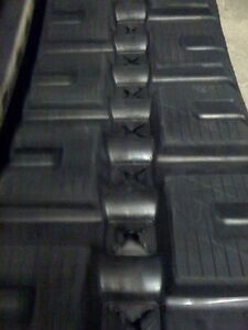 Qty 1 New Rubber 16 Tracks For Bobcat T190 T590