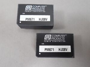 Computer Products Pm671 Dc dc Converter Lot Of 10 New