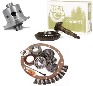 1998 2010 Ford Dana 80 3 73 Ring And Pinion 35 Spline Duragrip Posi Usa Gear Pkg