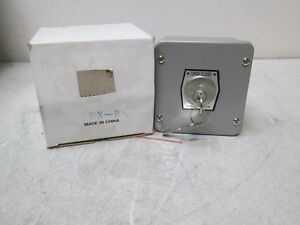 Forward Reverse Keyed Selector Switch With 18a 125vac Contacts 1kx r New