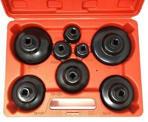 Sealey Vs7005 Paper Cartridge Type Oil Filter Cap Wrench Set 9pc Metric